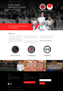 Keith Geyer Karate